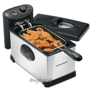 deep fryer new 3 liter oil capacity extra large 4 in deep fryer basket