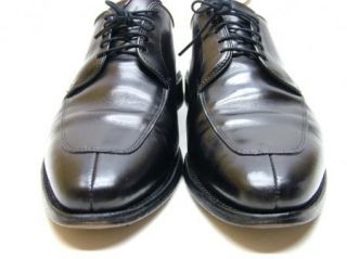 Mens Allen Edmonds Delray Black Oxford Dress Shoes Size 10 5 1 2 D