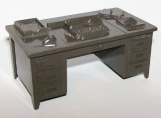 50s Marx US Army Training Center Military Office Desk