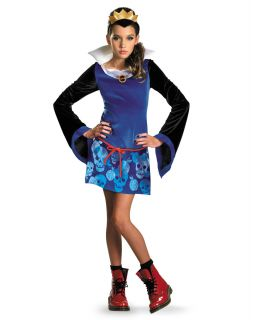 Disney Evil Queen Tween Halloween Costume 5 to 7 Snow White Girls s