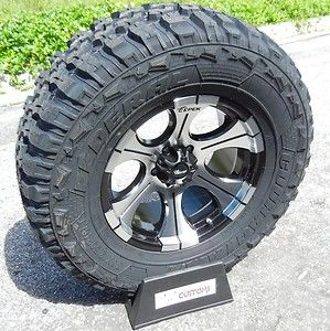 18 DICK CEPEK DC2 WHEELS & 35 FEDERAL MT TIRES JEEP WRANGLER JK 4X4