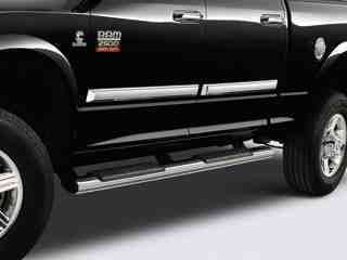 Dodge RAM Truck Chrome Tubular Side Steps Nerf Bars Running Boards