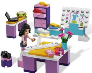 Lego Friends 3936 Emmas Fashion Design Studio New in Box 673419165792