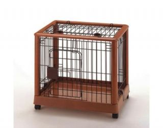 Richell Mobile Pet Pen 640 Small Dog Pen with Wheels