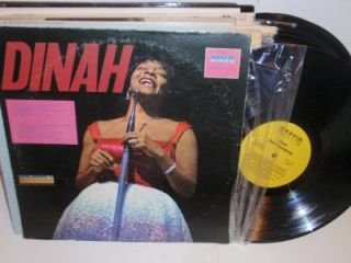 DINAH WASHINGTON Self Titled LP EMUS ES 12020 R&B vinyl album