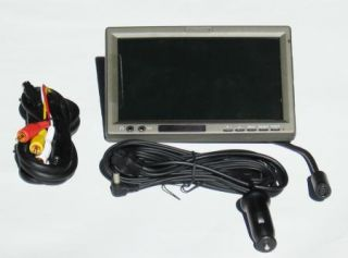New Headrest Monitor TFT LCD 7 Car Video DVD IR Auto