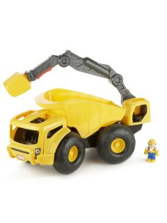 Monster Dirt Digger New Dumper Truck Crane Little Tikes