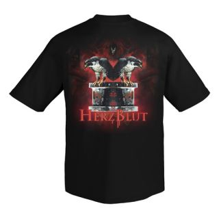 Doro Herzblut T Shirt Heavy Metal Warlock New XL