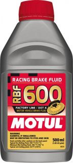 MOTUL RBF 600 Factory Line Dot 4 Racing Brake Fluid Fully Synthetic