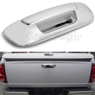 05 08 Dodge RAM 1500 2500 3500 HD Truck Chrome Tailgate Handle Cover