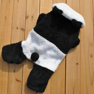 Dog Clothes Pet Apparel Dress Panda Costumes S