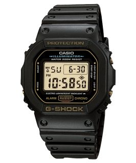 Casio G Shock DW5600EG 9V Mens Digital Sports Watch Black