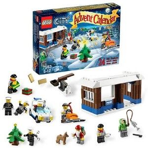 Lego City Advent Calendar 7553 232 Piece Complete Christmas SEALED