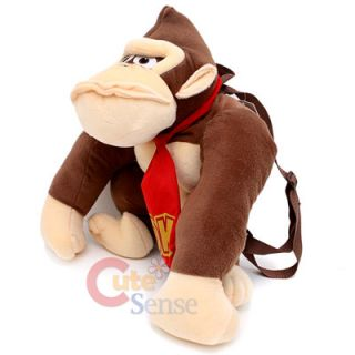 Nintendo Super Mario Donkey Kong Plush Bag/Backpack 19 Licensed (Kids