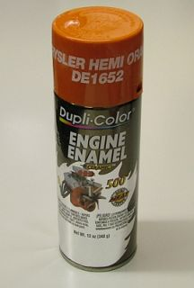 Dupli Color DE1652 Chrys Hemi Orange Engine Spray Paint