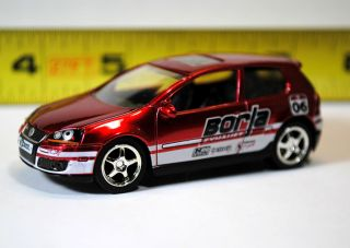 JADA TOYS V DUBS 1/64th SCALE LOOSE   VW VOLKSWAGEN GOLF MK5 GTI RALLY