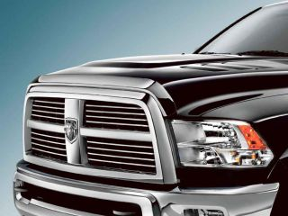 2011 2012 Dodge RAM 2500 3500 4500 Chrome Front Air Deflector Mopar