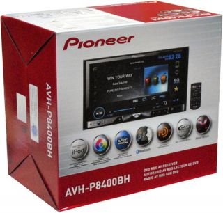 Pioneer AVH P8400BH 7 inch Car DVD Player Touch Screen Iphone