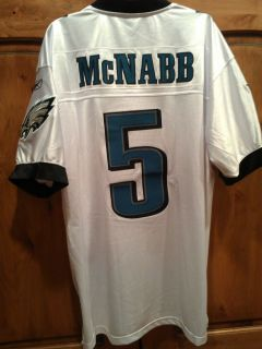 REEBOK ON FIELD DONOVAN MCNABB EAGLES JERSEY OFFICIAL NFL JERSEY NWT $