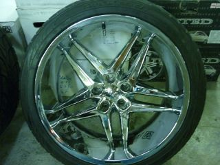 "22"" Dub Dirty Dog Wheels"