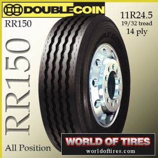 24 5 tires Double Coin RR150 11r24 5 tires semi truck tires 24 5 truck