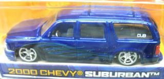 Jada Dub City 2000 Chevy Suburban RARE Set of 2 1 64