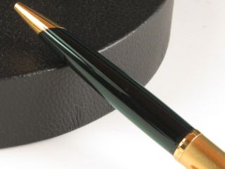 Waterman Edson Emerald Green & Gold Ballpoint Pen