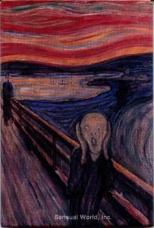 Refrigerator Locker MAGNET Edvard Munch THE SCREAM Art Stocking