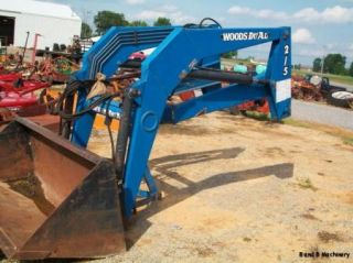 Woods 215 Dual Front End Loader to Fit Ford Tractor