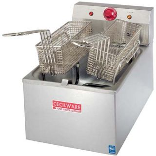 cecilware electric fryer heavy duty 14 high