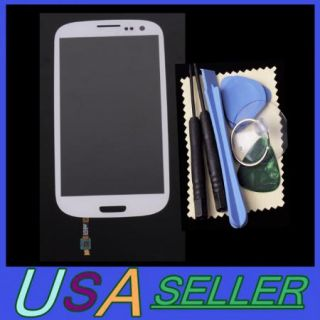 USA Outer Glass Lens Screen Cable for Samsung Galaxy SIII s 3 i9300