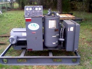 50 HP Leroi Rotary Air Compressor