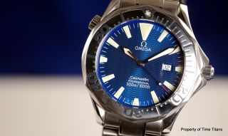 Omega Seamaster 300M Electric Blue 2265 80 00 Large 41mm Stainless