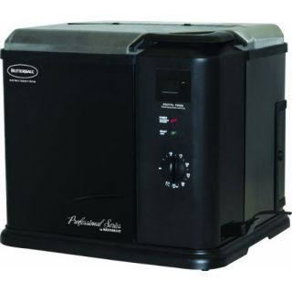 professional series indoor electric turkey fryer black color 20010611