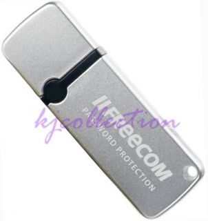 Freecom 32GB 32G USB Flash Pen Drive Memory Slide DataBar RETRACTABLE