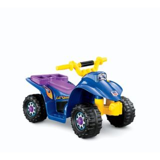 Fisher Price Power Wheels Lil Quad Electric Ride on 77760