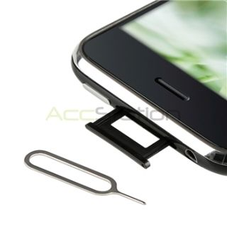 Micro Sim Card Adapter Converter Eject Pin for iPhone 4 G 4S