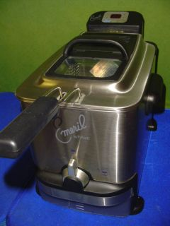 Emeril by T fal Deep Fryer model Emerilware SERIE F 36 C Used only One