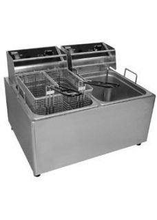 New Commercial Kitchen Countertop Electric Fryer 30 Lb