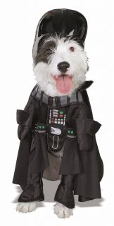 Star Wars Darth Vader Pet Dog Costume x Large New