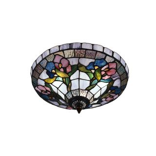 112 5565 dale tiffany hollyhock semi flush mount light fixture rating