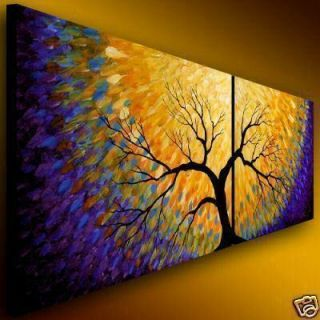 Huge Modern Abstract Wall Decor Art Canvas Oil Painting D239 No Frame