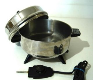 FARBERWARE Pot Pourri Electric Skillet Fry Pan Immersible Model 320A