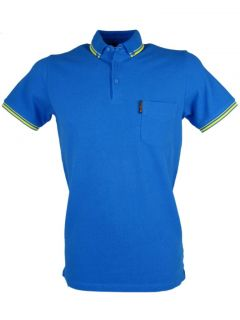 Ben Sherman Polo Shirt Twin Tipped Button Down Collar