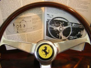 Ferrari 456 355 Nardi Wood Steering Wheel 15 New