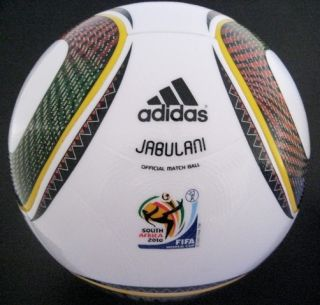 Adidas Jabulani FIFA World Cup 2010 Official Soccer Match Ball Premium