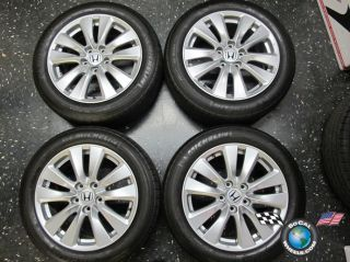 08 12 Honda Accord Factory 17 Wheels Tires OEM Rims 64015 225 50 17