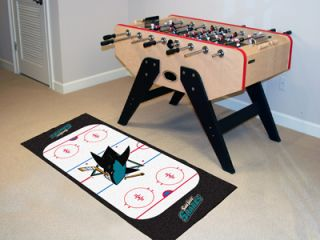 NHL 29 x 72 Hockey Rink Runner Area Rug Floor Mat by Fan Mats