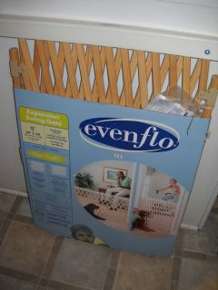 EVENFLO EXPANSION SWING SAFETY GATE 24 60 X 32 TALL FOR BABY, KIDS