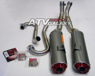 Big Gun EVO Dual Exhaust Pipe Muffler Yamaha Raptor 700
